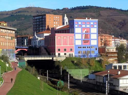 Ayuntamiento de Basauri imagen de fachada